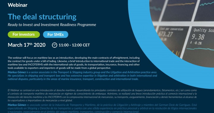 Webinar The Deal Struicturing - Spain