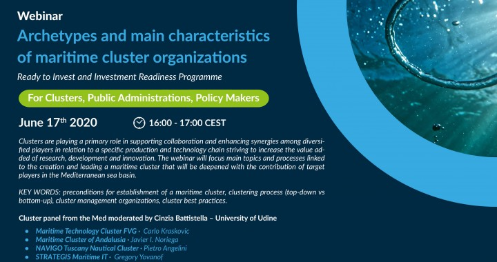Cluster ACT - Maritime Clusters in the Med